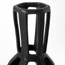 Load image into Gallery viewer, Drum Shaped Ceramic Vase