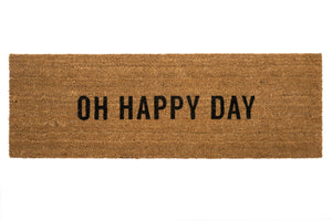 Oh Happy Day Doormat