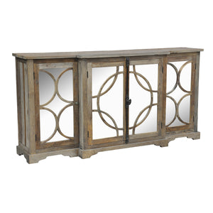 "79"" Mirrored Sideboard"