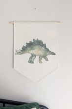 Load image into Gallery viewer, Stegosaurus Dino Hanging Banner
