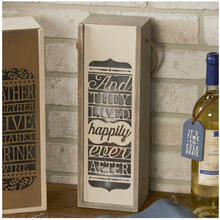 Load image into Gallery viewer, Happily Ever After Wine Box