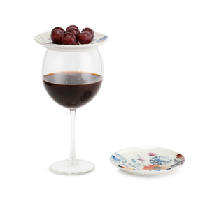 Wine Appetizer Plate (Multiple Styles)