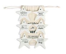 Load image into Gallery viewer, Wishes for Baby's First Christmas Ornaments