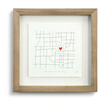 Load image into Gallery viewer, All Roads Lead to Home Small Wall Art