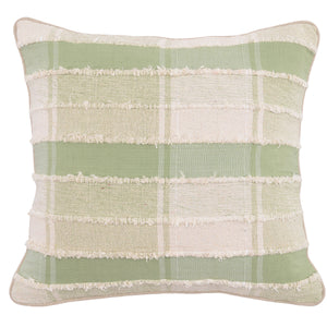 "20"" Tea & Ivory Pillow"
