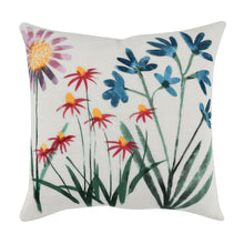 "Load image into Gallery viewer, 18"" Floral Pillow"