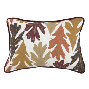 "20"" Leaves Accent Pillow"