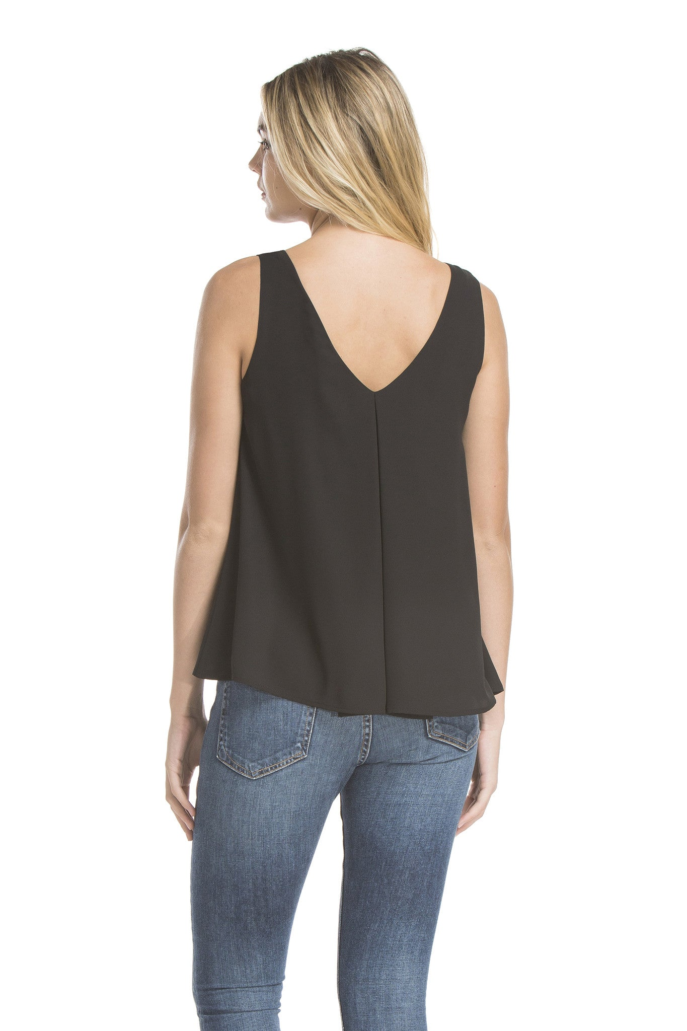 Heidi Tank Blouse | Black