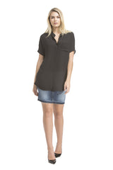 Sslv Pocket Blouse | Black
