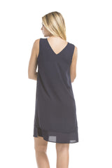 Chloe Dress | Navy