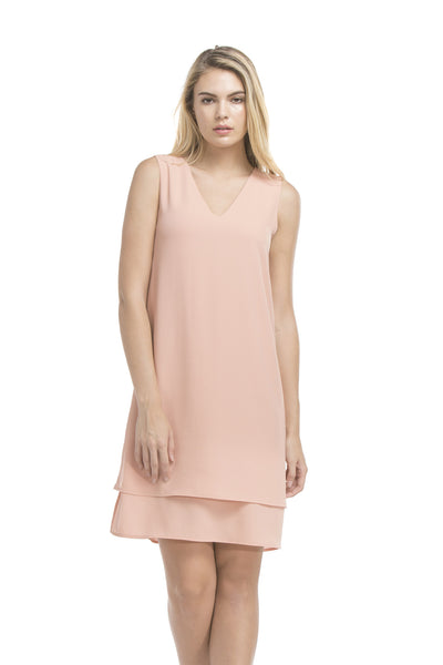 Chloe Dress | French Coral