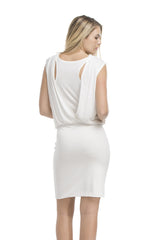 Double Layered Muscle Tank Dress | Ivory