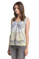 Gabi Top | Blue Line Deco