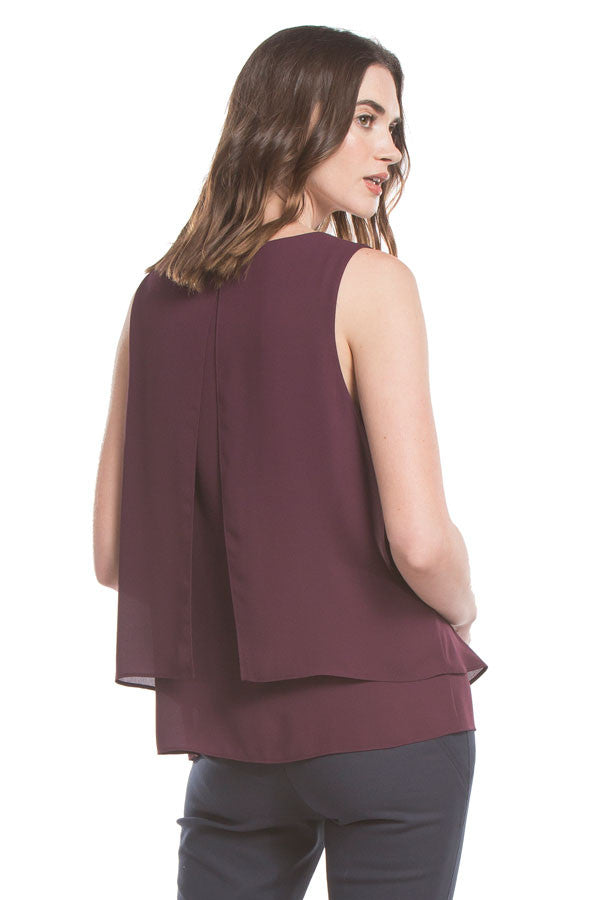 Hailey Tank | Dark Orchid