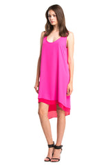 Britt Dress | Fuschia