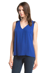 Gabi Top | Electric Blue