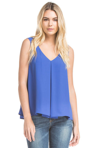 Heidi Tank Blouse | Royal