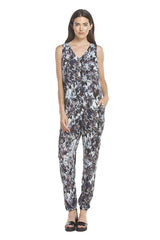 Hailey Jumpsuit | Blue Floral P