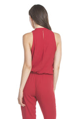 Signature Jumpsuit | Cranberry