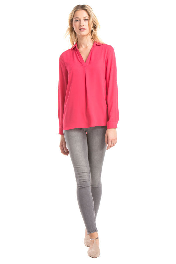 Finley Top | Hot Pink