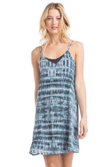 Cross Cami Dress | Electric Blue