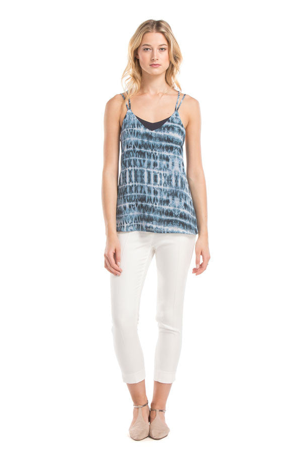 Cross Cami Top | Electric Blue