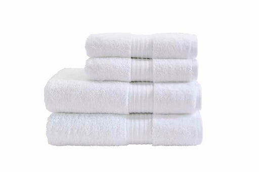 White Cotton Towels Pack Of 4