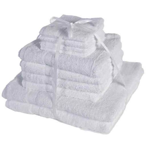 White Cotton Towels Pack Of 10
