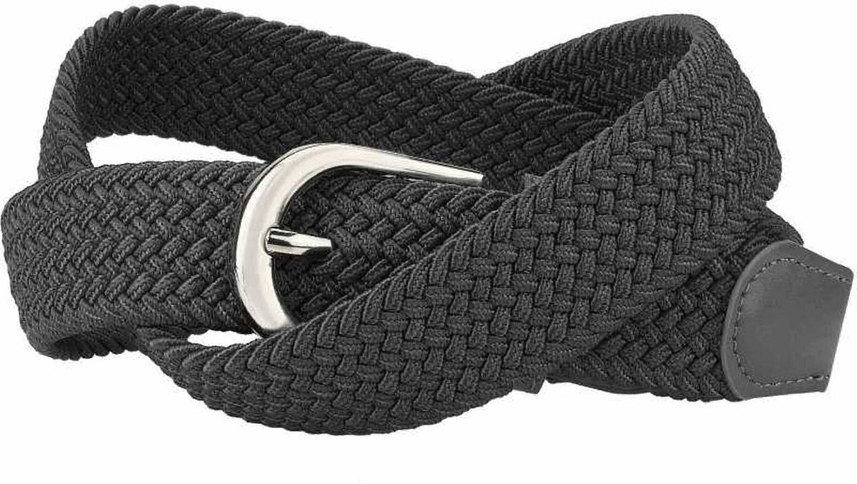 Fancy Gray Canvas Casual Belt