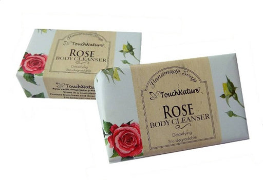 Touch Nature Rose Handmade Soap (100gm, 2pc)