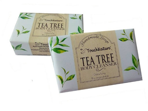 Touch Nature Tea Tree Handmade Soap (100gm, 2pc)