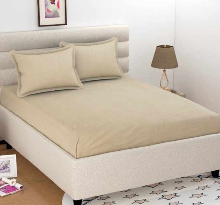 Cotton Bedsheet with 2 Pillowcovers