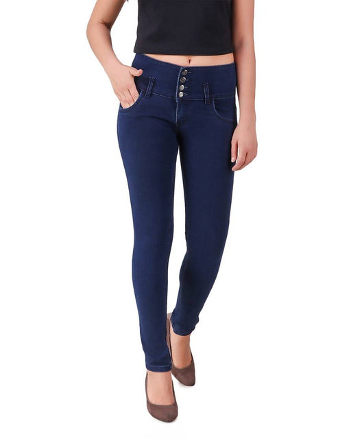 Women High Waist Denim Jeans