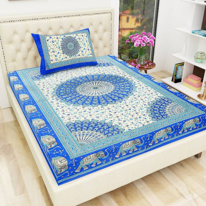 Cotton Single Bedsheet