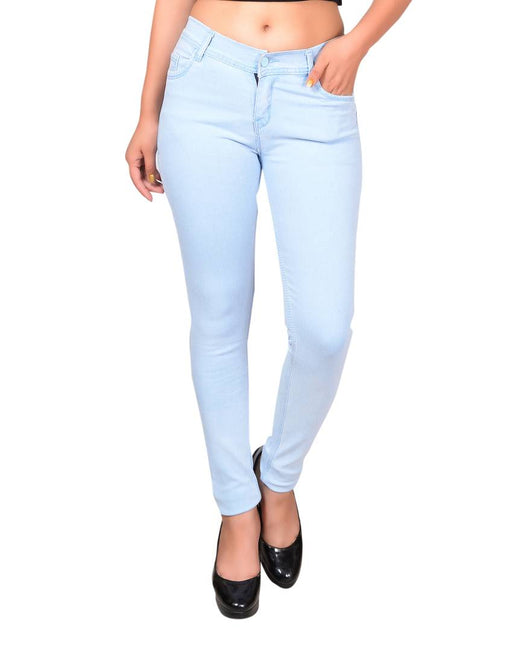 Blue Denim Jeans For Women's