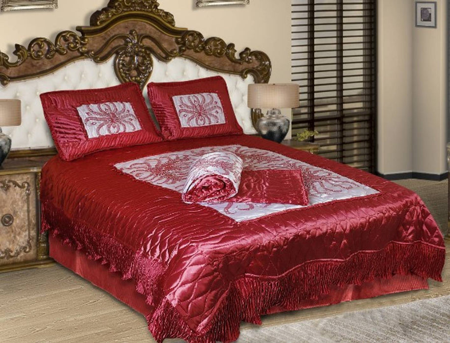 ELEGANT SATIN BEDDING SET