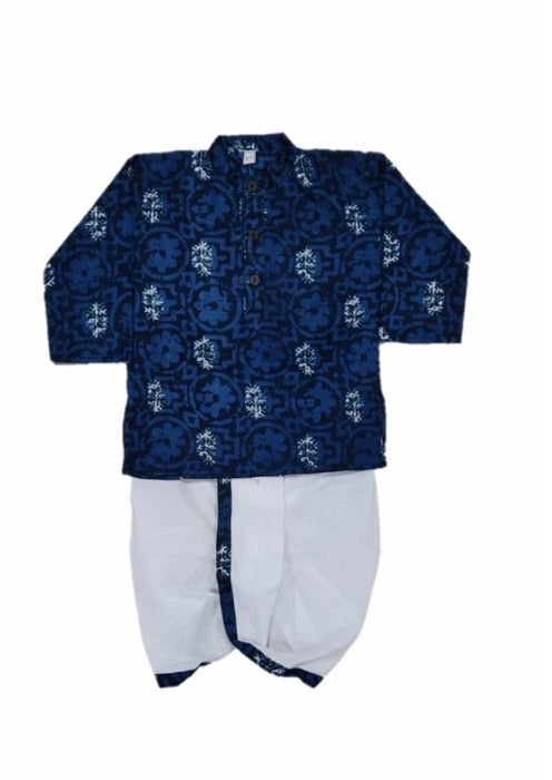 Rayon Dhoti and Kurta Set for Kids