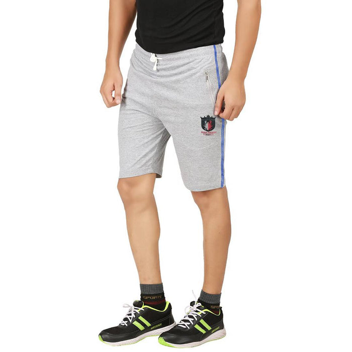 Men's Self Pattern Regular Fit Cotton Regular Shorts Combo Of 2