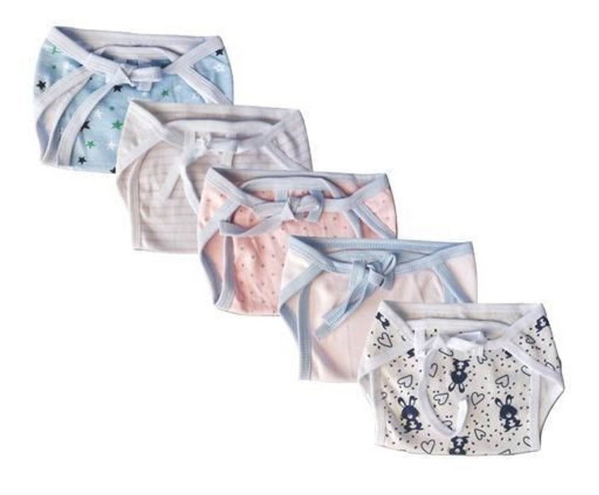 Pack Of 5 Baby Langot or Nappy