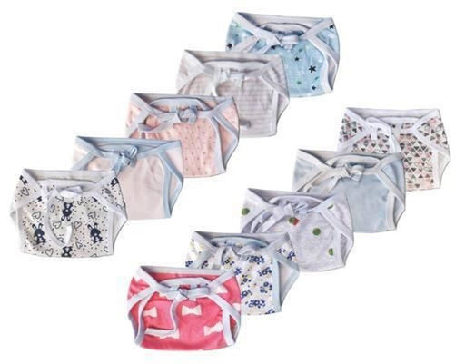 Pack Of 10 Baby Langot or Nappys
