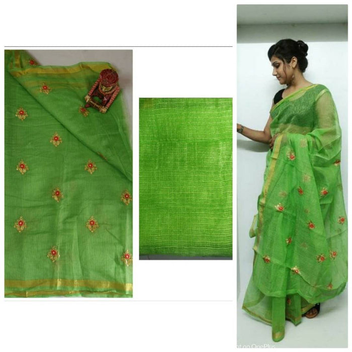 Kota Doria Cotton Sarees with Blouse