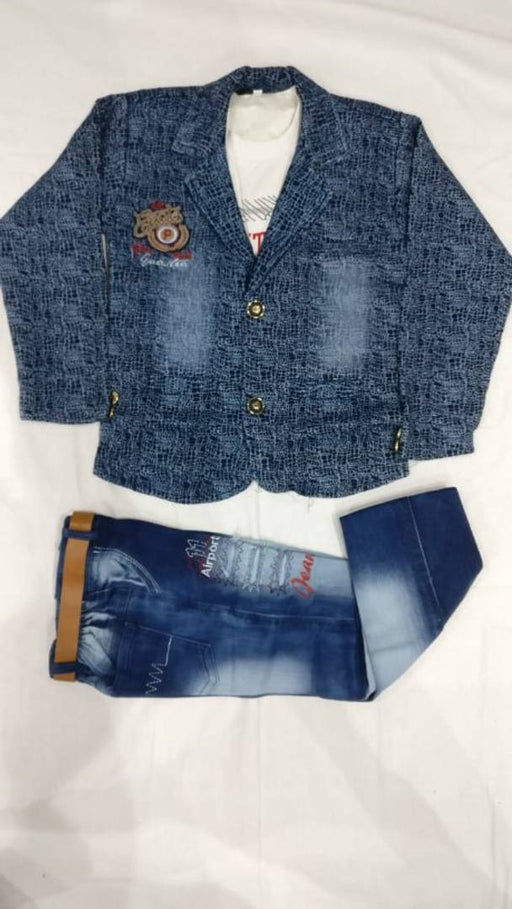 Boys Clothing Set 3 piece with belt