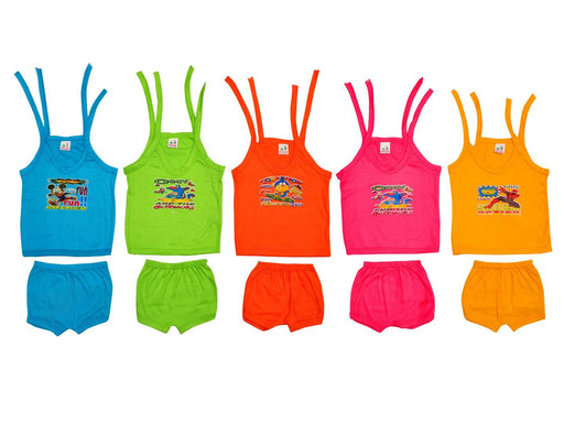Baby Top & Bottom Set - Pack of 5