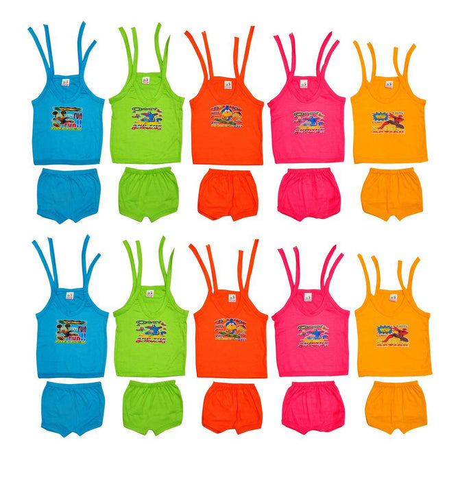 Baby Top & Bottom Set - Pack of  10