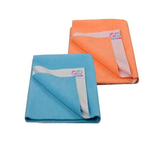 Babies Multicoloured Wool Solid Rubber Mat (Pack Of 2)