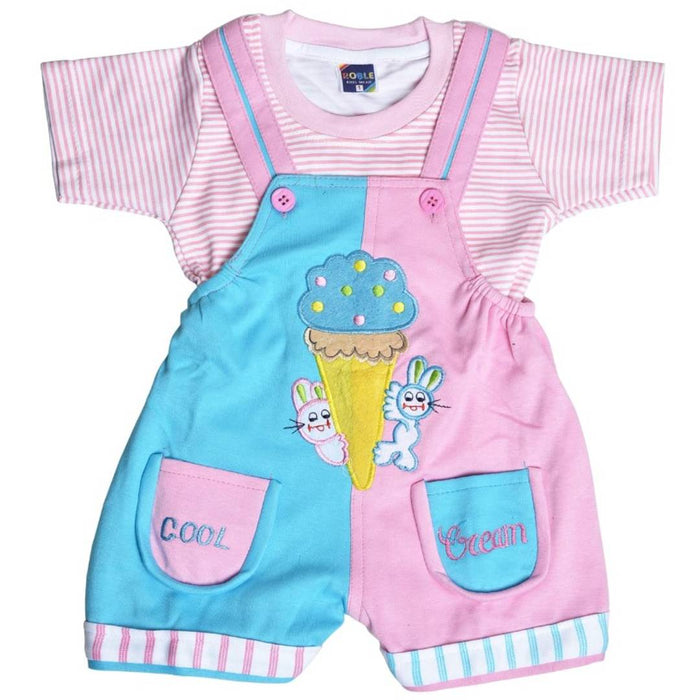 Cute Elegant Printed Kid's Clothing Sets