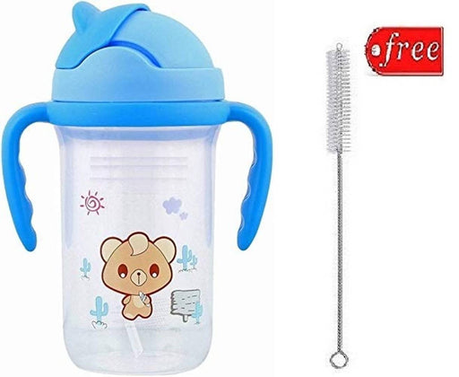 Baby Spill-Proof Unbreakable Water , Juice Straw Sipper