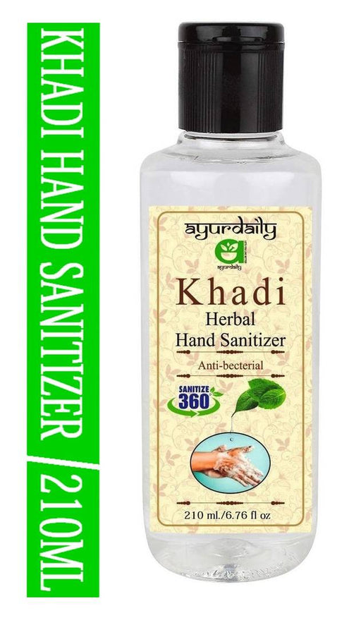 Herbal Antibacterial Hand sanitizer 210ml
