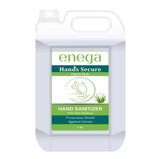 Enega Alcohol Based Hand Sanitizer With  Aloe Vera 1 Litter