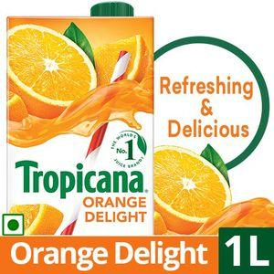 Tropicana Fruit Juice - Delight, Orange